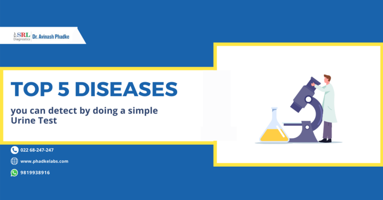 Top 5 Diseases you can detect by a simple Urine Test